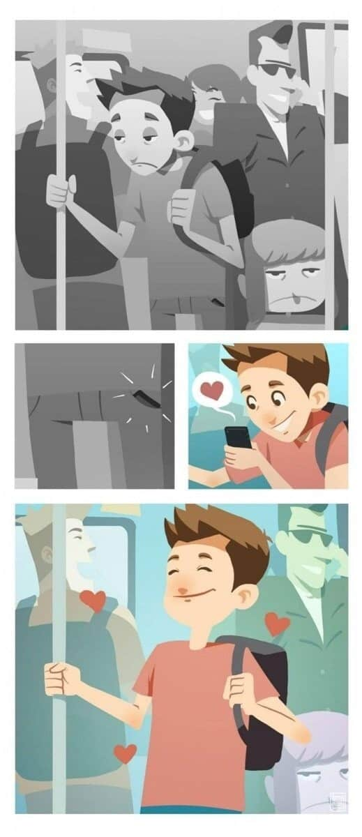 You are my favorite notification -16 cute couple comics that capture the bittersweetness of long distance relationship -todaywedate.com