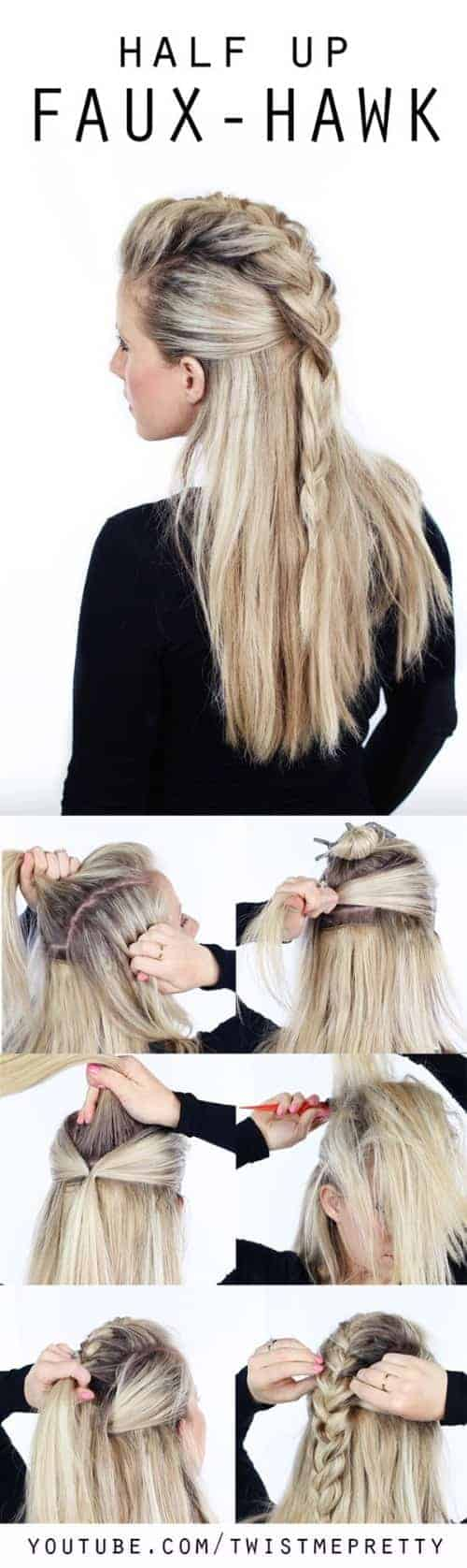 Simple Five Minute long Hairstyles effortless long hairstyle for date ngiht