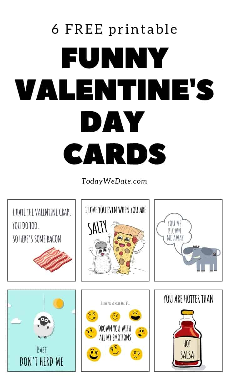 Lucrative image intended for funny printable valentines