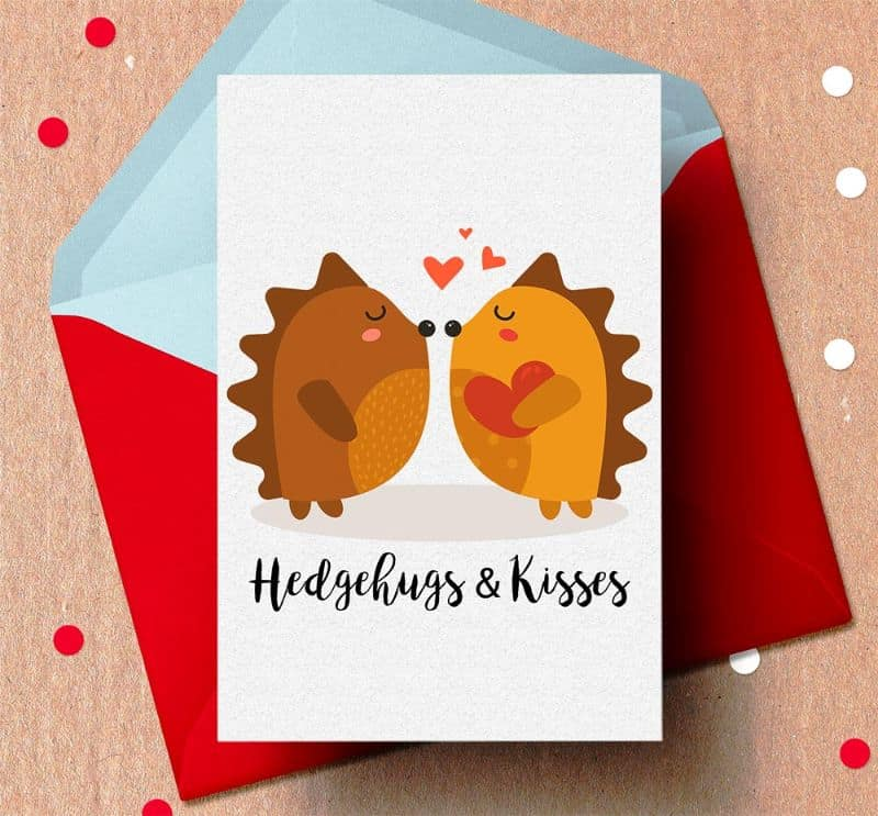 cute animal printable valentines day cards Todaywedate.com19