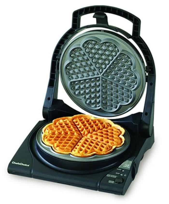 A waffle cooker that makes perfect golden_brown waffles for him_ 42 thoughtful gift ideas for your long distance boyfriend _ TodayWeDate.com
