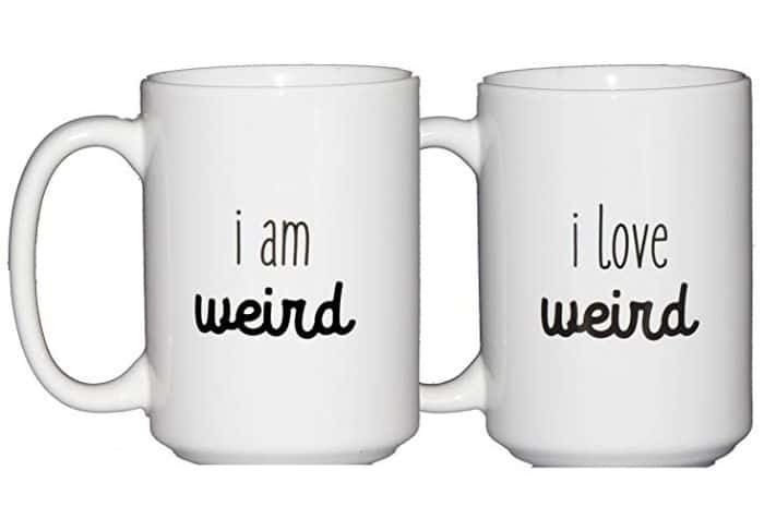Matching mugs for weidos -LDR gifts for him