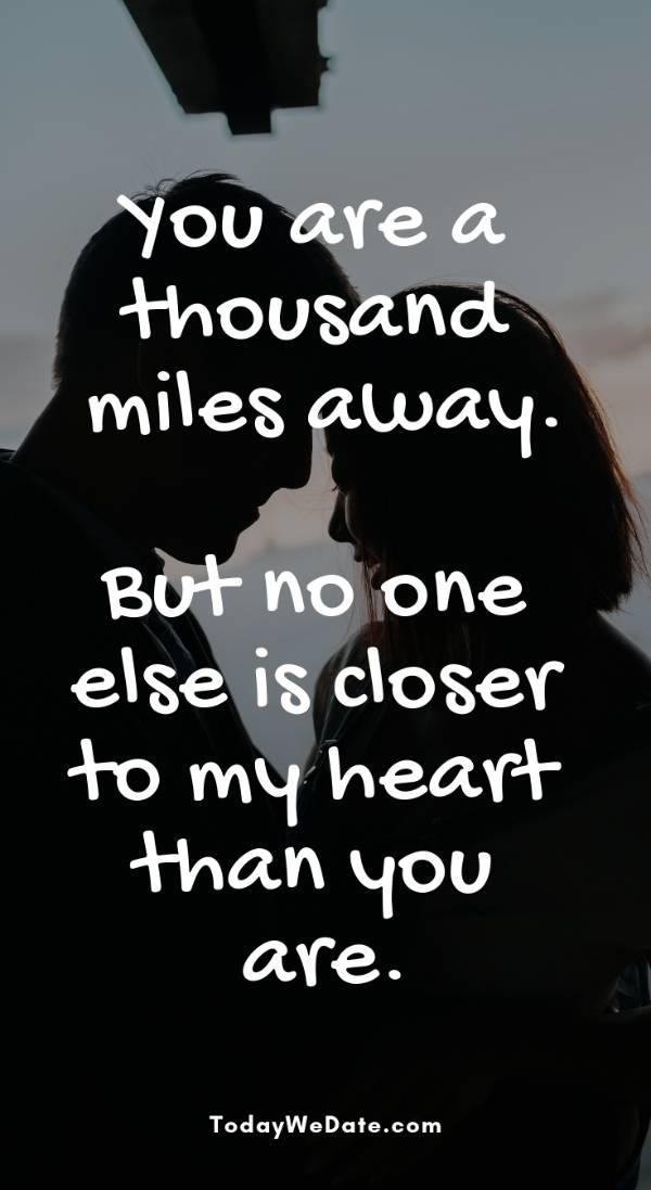 33 Sweet Long Distance Relationship Text Messages To Send Him