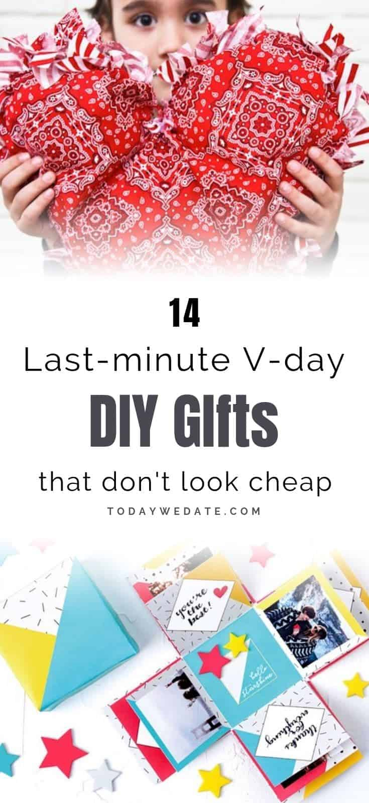 14 Last-minute Easy DIY gifts for Valentine's Day that don't look cheap - todaywedate.com//DIY ideas for boyfriend/DIY gifts/DIY on a budget/Couple DIY projects/cute diy/DIY ideasfor wedding/valentines day gifts for him/valentines gifts for him/valentines day gifts for her/good valentines day gifts/personalized valentine gifts/valentine gift baskets/valentine gifts for husband/valentine crafts/valentine crafts for kids/valentine crafts ideas/valentine crafts for adults/valentine crafts pinterest/homemade valentines day gifts for him/valentines day projects