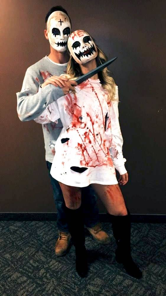 Halloween Costumes For Couples Scary.49 Best Halloween Couple Costumes From Cute To Straight Up Scary