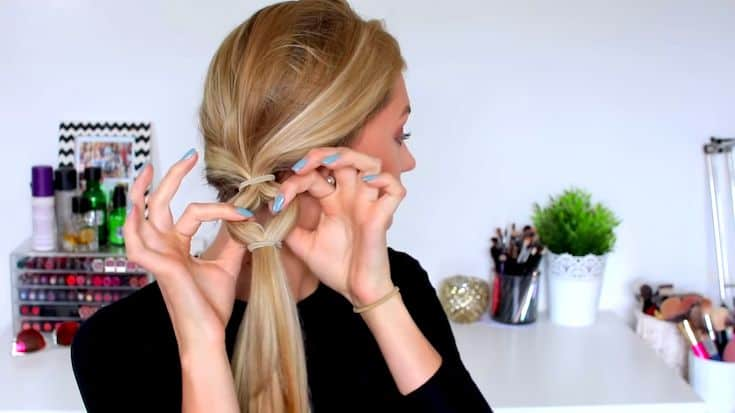 A-faux-fishtail-braid​-for-the-summer-todaywedate.com-5