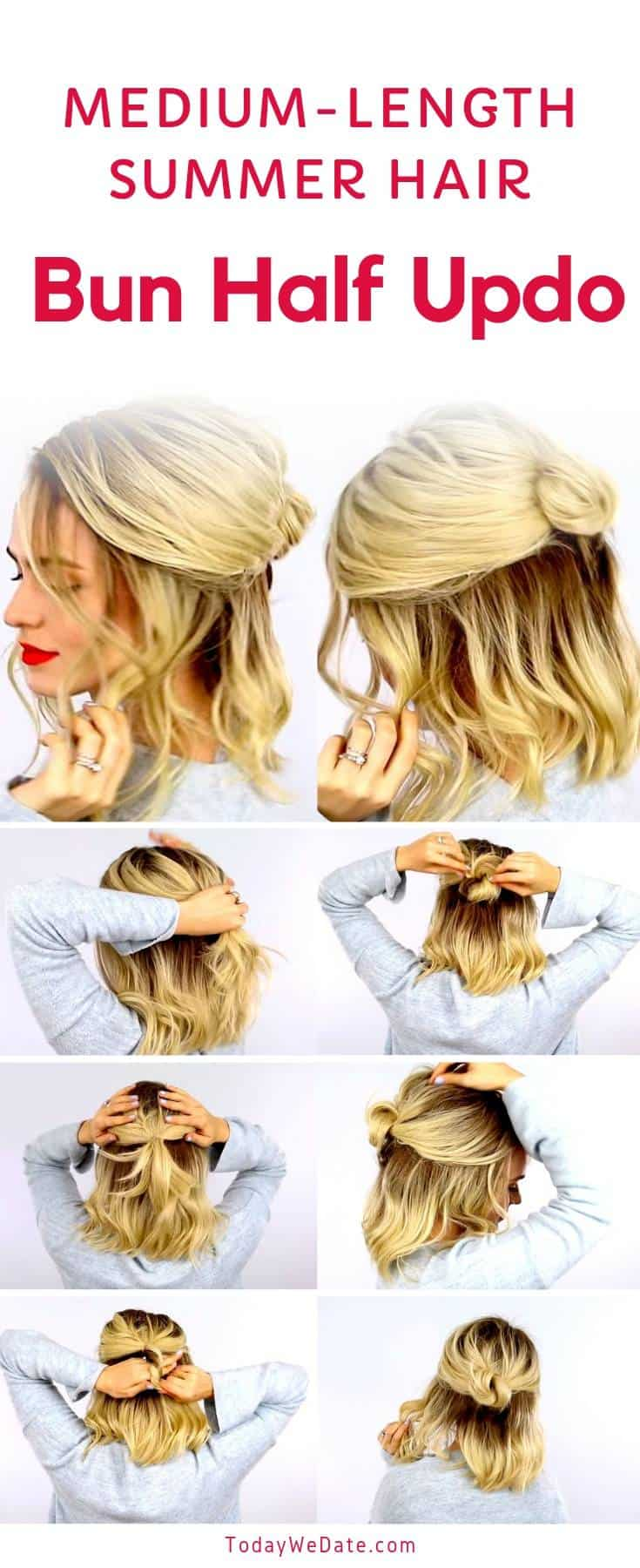 No-heat-easy-summer-hairstyles-todaywedate.com-2