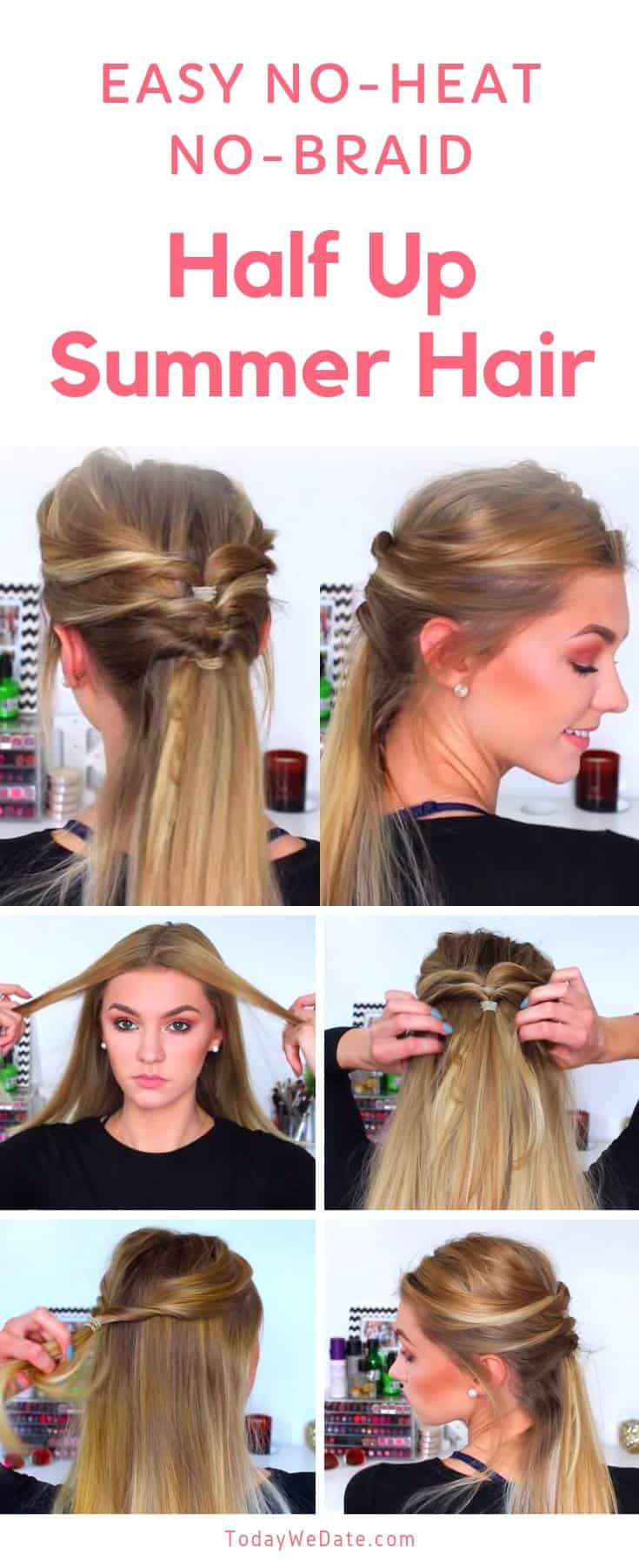 No-heat-easy-summer-hairstyles-todaywedate.com-5
