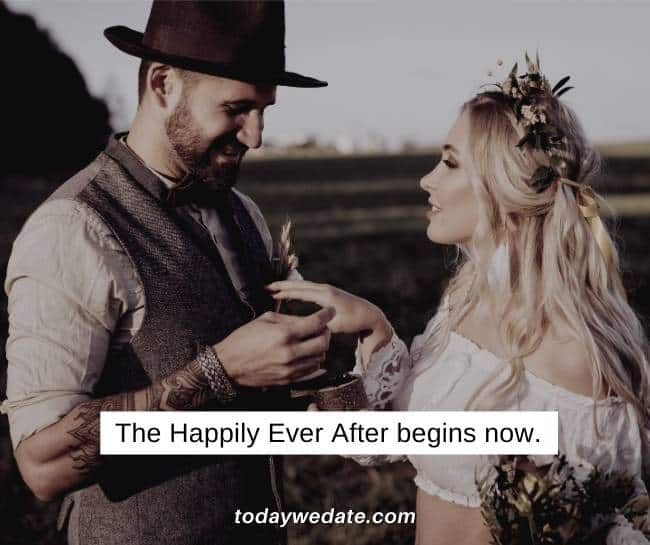 Hearty Instagram captions for wedding couples- Sweet Instagram captions for couples - TodayWeDate.com